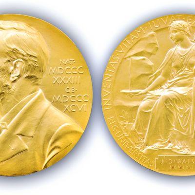 James D. Watsonin Nobel-mitalli.