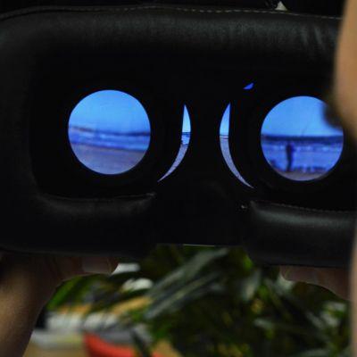 Virtuaalilasien avulla 360-videosta saa enemmän irti kuin näytöltä katsottuna.