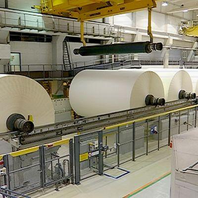 Paperitehdas Stora Enso Imatra.