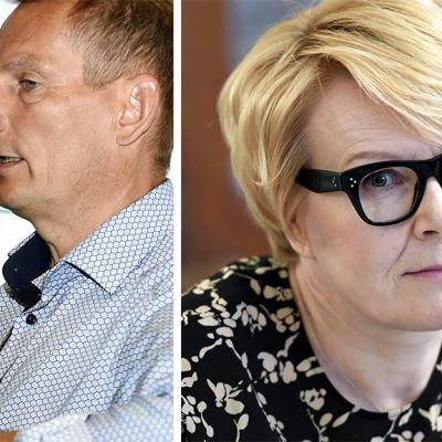 Kai Telanne ja Päivi Anttikoski.