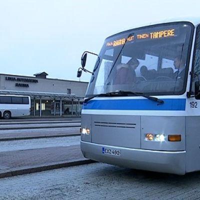 Rauman linja-autoasema.
