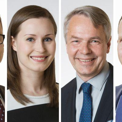 Puolueiden puheenjohtajat tentittävänä ilmastoasioista