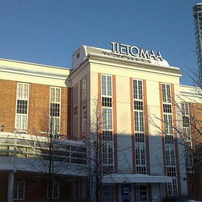 Oulun tiedekeskus Tietomaa sijaitsee entisen nahkatehtaan tiloissa.