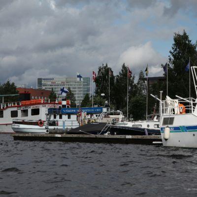 Jyväskylän satama Lutakossa