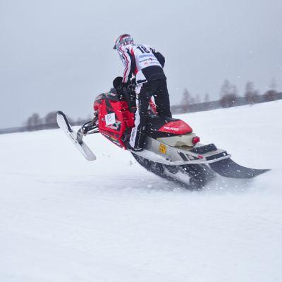 Kemijärvi Giant -kilpailun osallistuja vuonna 2015
