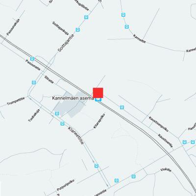 Epäilty henkirikos tapahtui Kannelmäen juna-asemalla myöhään sunnuntai-iltana 26.4.