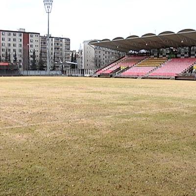 Tammelan jalkapallokenttä.