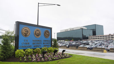 NSA:s högkvarter i Fort Meade i Maryland