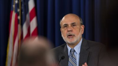 FED:s centralbankschef Ben Bernanke.