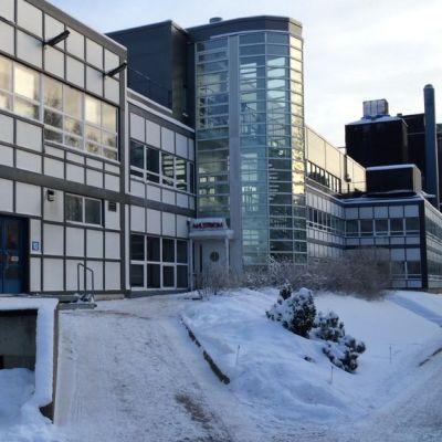 Ahlstromin tehdas Kotkassa.