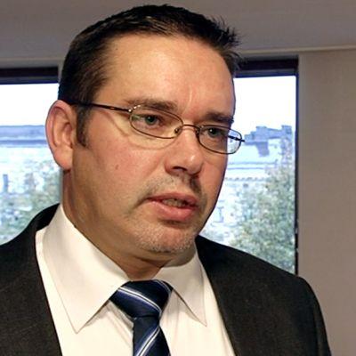 Leppäkosken sähkön toimitusjohtaja Juha Koskinen.
