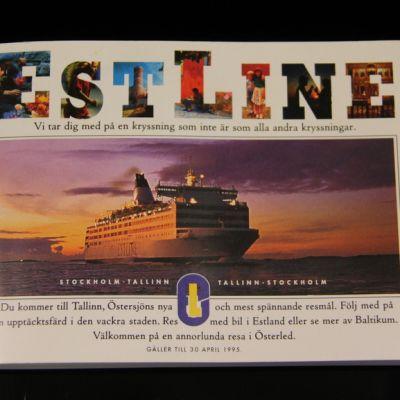Estonian matkaesite vuodelta 1994