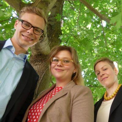 Neljä viidestä energialähettiläs-finalistista 2013 Vaasassa.