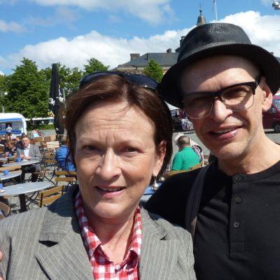 Anna Pitkänen ja Jorma Uotinen.