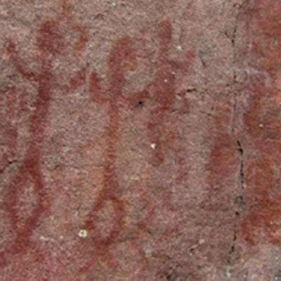 Kalliomaalauksia Kirkkonummella