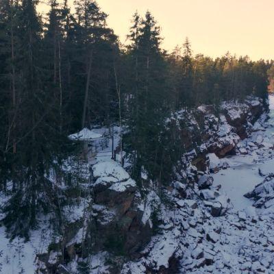 Imatran Kruununpuisto Imatrankoski