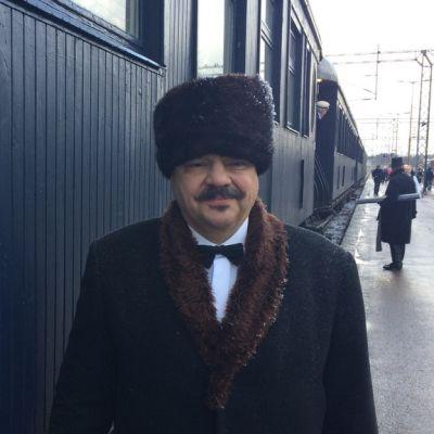 Heikki Svinhufvud näytteli isosäänsä