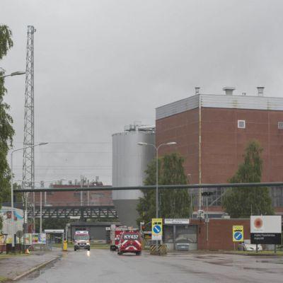 Stora Enso, tulipalo, Anjalankoski, paperikone