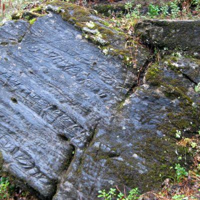 Käymäjärven kivi Pajalassa, Ruotsin Lapissa