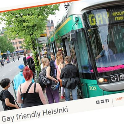 Gay friendly Helsinki