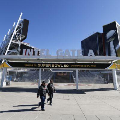 Levi's Stadium on 50. Super Bowlin näyttämö.