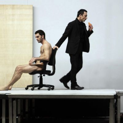 Dimitris Papaioannou ja Michael Theophanous