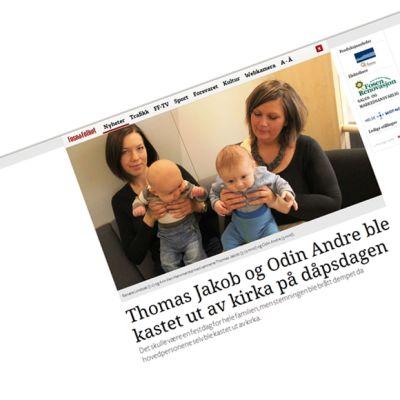 Skärmdump från fosna-folket.no.