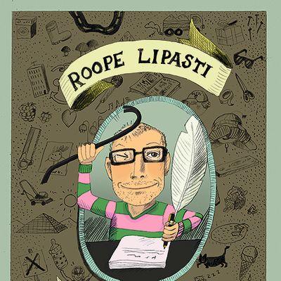 Roope Lipasti: Halkaisukirvesmies -kirjan kansi