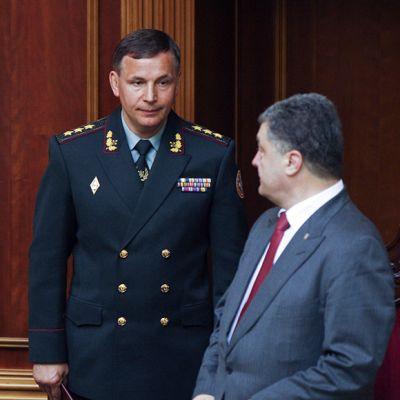 Valeri Heleteyja Petro Porošenko