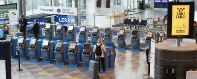 Terminal 2 på Helsingfors-Vanda flygplats.