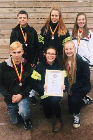 Ungdomar från Pargas FBK deltog i tävling hösten 2015
