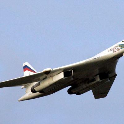 Venäläinen TU-160-pommikone.