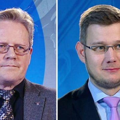 Seppo Särkiniemi ja Eerikki Viljanen