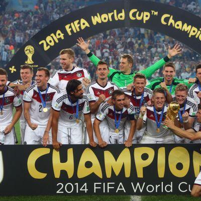 Saksa voitti MM-kultaa
