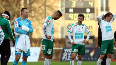 IFK Mariehamn åkte på en tung förlust mot KuPS.