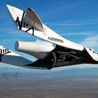 Virgin Galactics rymdflygplan Space Ship Two störtade under provflygningen.