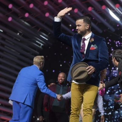 Australian Euroviisu-edustaja Guy Sebastian.