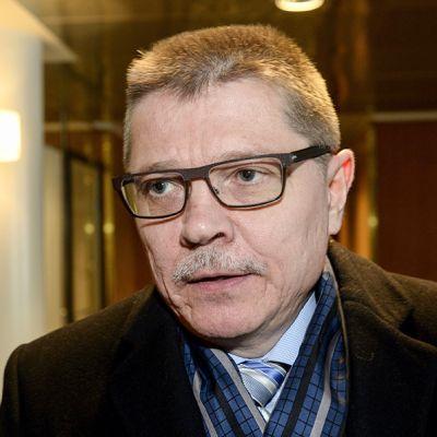 Kuntatyönantajien työmarkkinajohtaja Markku Jalonen EK:n tiloissa Helsingissä 19. tammikuuta 2016.