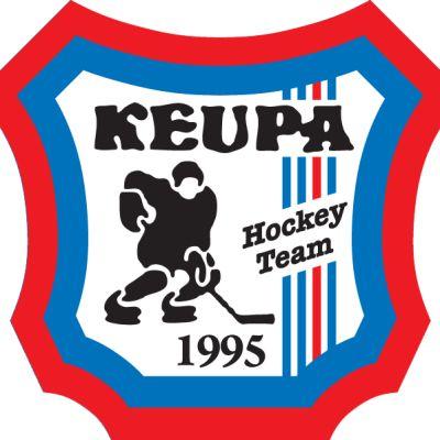 Jääkiekkojoukkue KeuPa:n logo.