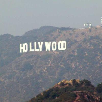 Hollywood-teksti