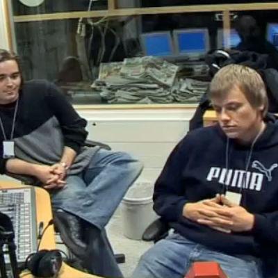 Ted Forsström (vänster), Kaj Korkea-Aho (höger)