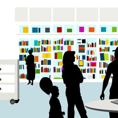 Tulevaisuuden kirjastosta voi löytyä 3D-tulostin.