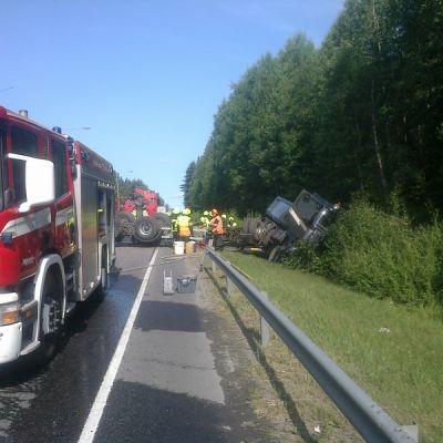 Ohikulkutien onnettomuus 9.7.2013