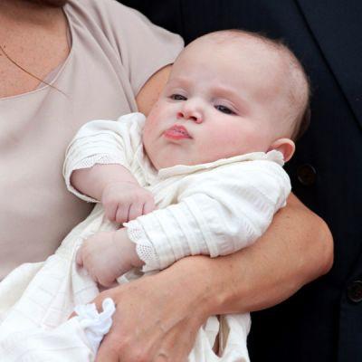 Tanskan prinsessa Athena Marguerite Francoise Marie kastettiin 20.5.2012.