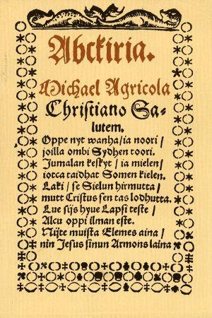 Acbkiria av Mikael Agricola.
