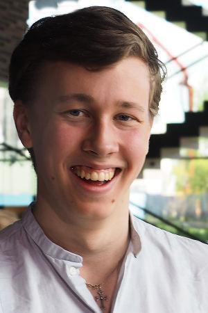 18-vuotias sellisti Jonathan Roozeman.