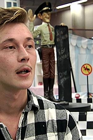 Kuvassa Andy Hyvönen.