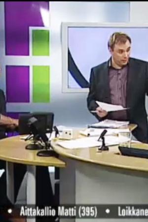 TV-nytt om kommunalvalet 2008.