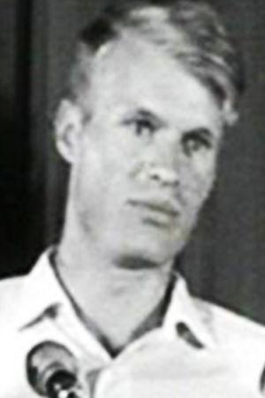 Författaren Le Clezío.