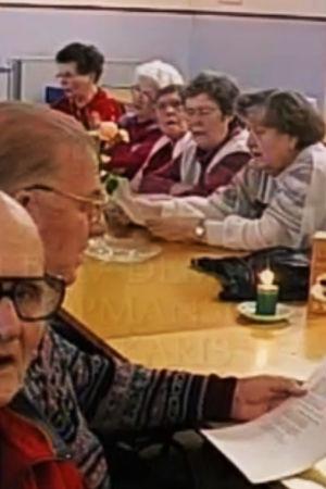 Pensionerade socialdemokrater i Folket hus.